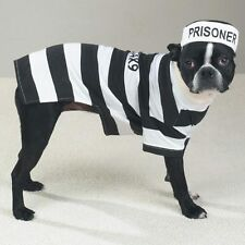 Casual Canine PRISON POOCH Dog Costume Hat Easy-On Easy-Off Velcro Closure