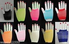 PAIR OF SHORT FISHNET GLOVES / HAND CUFF : CHOOSE COLOUR : GB0816