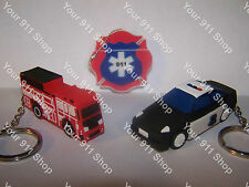 8 GB Firetruck - Police Car - EMS - 911 Dispatcher - USB Flash Drive 2.0 Memory
