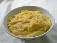 Gourmet Yellow Grits Southern Style Stone Ground 100% Organic Breakfast Survival