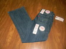 Girls 8 & 14 Slim 16 517 Flare Adjustable Waistband Levi's Denim Blue Jeans