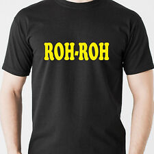 ROH-ROH scooby doo cartoon oh oh dog classic 80s 90s vintage retro Funny T-Shirt