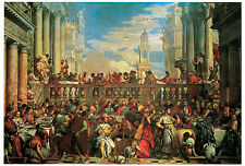 The Wedding Feast at Cana, 1563, - PAULO  VERONESE - Life of JESUS Art