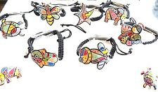 Animal bracelet adjustable multicolor Turtle,Elephant,Frog,starfish BUY 4/1 FREE
