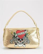 Ed Hardy Love Kills Slowly Anges Handbag New Genuine