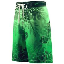 NEW Mens SPEEDO $48 TROPICAL FLORAL SWIM Suit TRUNKS w/Liner PICK SIZE