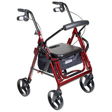 Duet Transport Chair Wheelchair-Rollator Walker: 2 in 1 combo by Drive Medical
