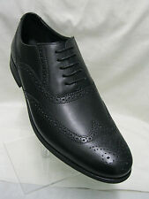 *SALE* Mens Clarks Brint Brogue. Black Leather Brougue G Fitting