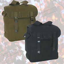 SMALL ADJUSTABLE MUSETTE RUCKSACK/BACKPACK BOOK-BAG - 12 x 12 x 6""