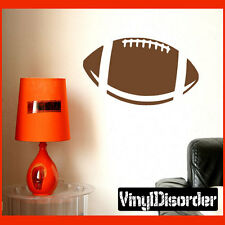 Football Sports hobbies Outdoor Vinyl Wall Decal Sticker Mural Quotes CP004
