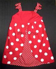 NWT Gymboree POLKA DOT LADYBUG Red with White Polka Dot Sun Dress 3T 4T 5T