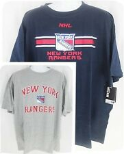 2 New York Rangers NHL Licensed Mens Majestic T shirts Big & Tall Sizes