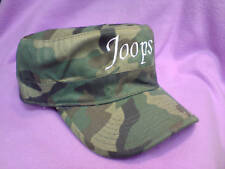 Personalised Army Flat Cap / Urban Military Cadet Hat - Unisex