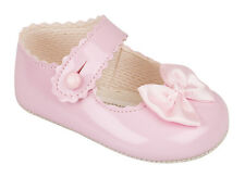 BABY GIRLS CUTE  BAR PRAM SHOES