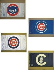 Chicago Cubs NL Central Division MLB Indoor Outdoor Souvenir Banner Flag 3' X 5'