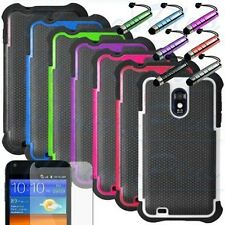 Dual Layer Hybrid Hard Case Cover for Samsung Galaxy S2 D710 Epic Touch Sprint