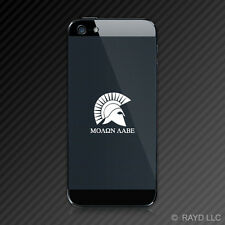 (2x) Molon Labe Cell Phone Sticker Die Cut Decal Self Adhesive Vinyl Type 1