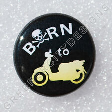 N4 - Born to Scoot - Pirate Skull and Cross Bones, Hard Core Scooting, Scooter