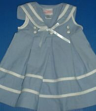 Girls Sailor Dresses La Princess Maty Mondays Child Authentic Kids Bonnie Jean