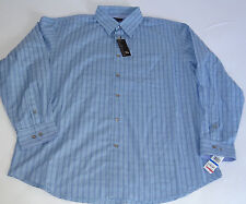 NWT VAN HEUSEN MENS BUTTON DONW SHIRT LONG SLEEVE MULTI  1 POCKET