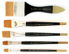 Artists Classic Watercolour Brush | FIats | Brushes4Art