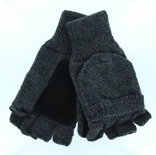 GO Gloves Convertible Mittens with Suede Palm Patch - Men's & Women's One Size