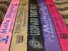 Personalised Birthday Sash 21st 30th 40th 50th 100th GEMS & GLITTER FROM £1.80
