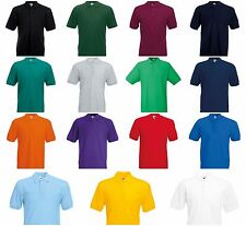 NEW FRUIT OF THE LOOM PERSONALISED POLO SHIRT WORK OFFICE DARTS BUSINESS STAG DO