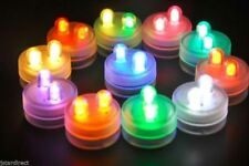 20 SUPERBRIGHT Premium Dual LED Submersible Floral Party Wedding Tea Light