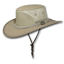 Barmah Hats Canvas Drover Hat - 1057BE / 1057KH / 1057BR / 1057BL
