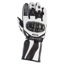 RST Delta 2 WHITE Motorbike/Scooter Leather/Carbon Gloves S M L XL 2XL cheap