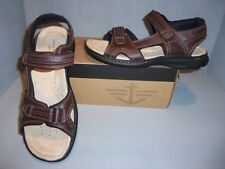 Dockers Men's Latimer Brown Leather Sandals Size 12 or 13 NIB