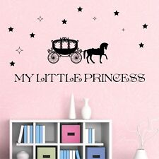 MY LITTLE PRINCESS wall decals for girls kids bedroom wall stickers