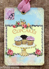 Hang Tags  FRENCH CUPCAKE POSTCARD TAGS or MAGNET #266  Gift Tags