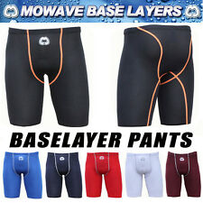Mowave base layer half pants shorts compression tight skin gym soccer sportswear
