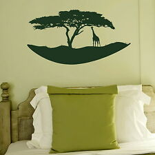 African Island  Removable Vinyl Decor /Art Decor Graphic / Wall Decal NE85