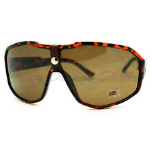 Mens Oversized Sunglasses Unique Sporty Shield DG Frame