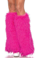 Monster Furry Leg Warmers Adult Costume Accessory