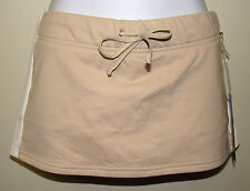 Abercrombie & Fitch - Tan or White Gym Issue Stretch Skort -Shorts Small - NWT