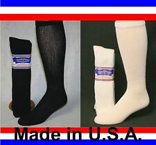 3, 6 or 12 Pair Men's Women Over the Calf Cushioned Diabetic Socks Sizes