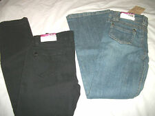 * NWT NEW GIRLS LOT OF 2 PAIRS OF SKINNY FLARE Jeans PANTS 10