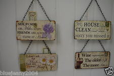 Assorted Friendship Or Funny Wall Plaque Sign, Great Gift For Friends Or Self