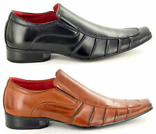 New Mens Italian Style Leather Lined Formal/ Wedding Suit shoes UK Sizes 6-12