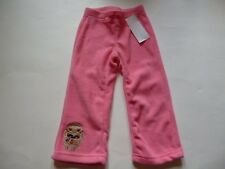 Gymboree Winter Cheer Pink Fleece Pants Gingerbread Man 12-18-24 2T 3T 4T NEW