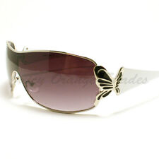 Butterfly Design Sunglasses Womens Shield Fashion Shades