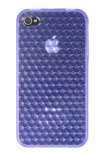 Silicon skin with diamond pattern for iPhone 4/4S (choice of colors)