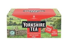 ORIGINAL YORKSHIRE TEA BAGS - 200 ONE CUP TEA BAGS
