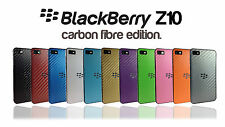 Carbon Fibre Skin for BLACKBERRY Z10 Wrap Cover Sticker Protector Case decal