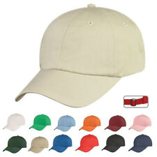 STORM 100% Cotton 6 Panel Low Crown Unstructured Baseball Hats Caps