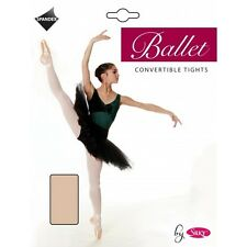 Ballet Tights, Adults, Convertible, Tights by Silky in Pink - Sizes S, M, L